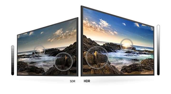 độ tương phản tốt Tivi Samsung UA65TU8000